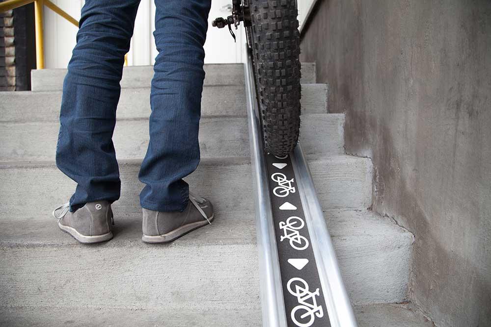 Rampe à vélo