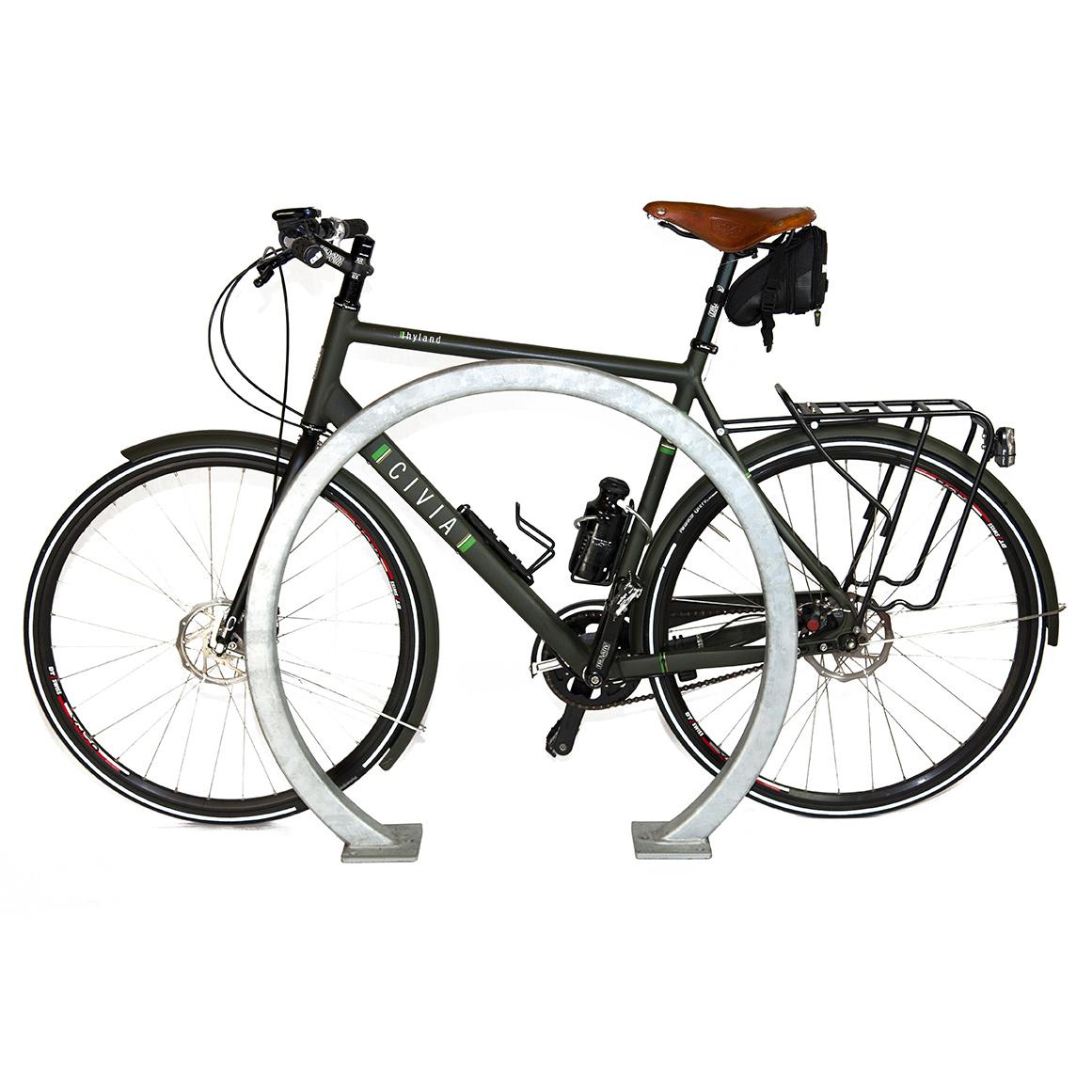 Support à vélo cercle