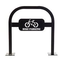 support vélo agrafe personnalisé
