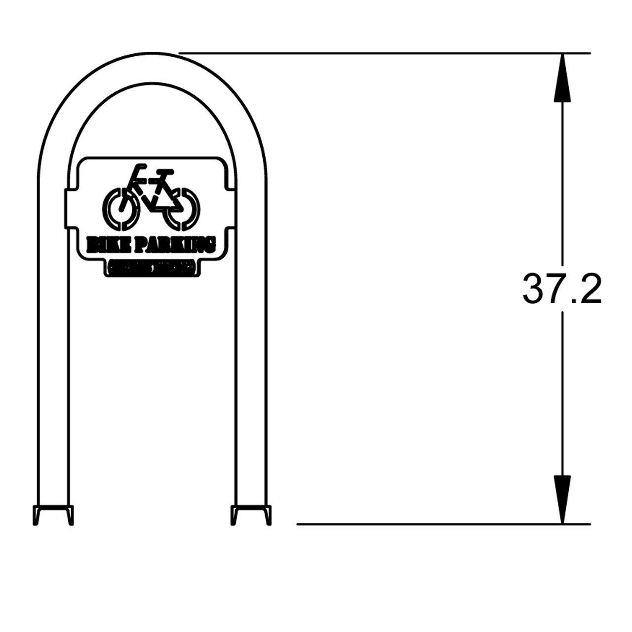 Support à vélo corral