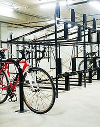indoor bike rack