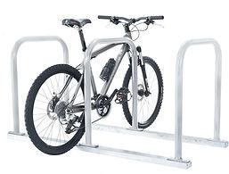 support à vélo classique sheffield en rangée