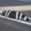 zebra cycle lane separator