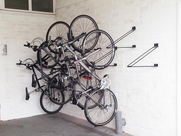 Vertical Bike Rack
