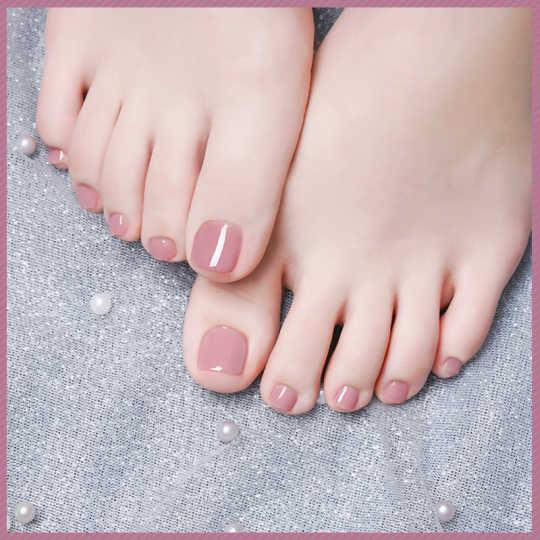 趾甲修飾及單色油甲 - 足部 (包磨沙)