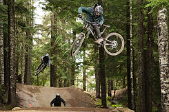 Evolution Rider Sam G- Whistler Bike Park