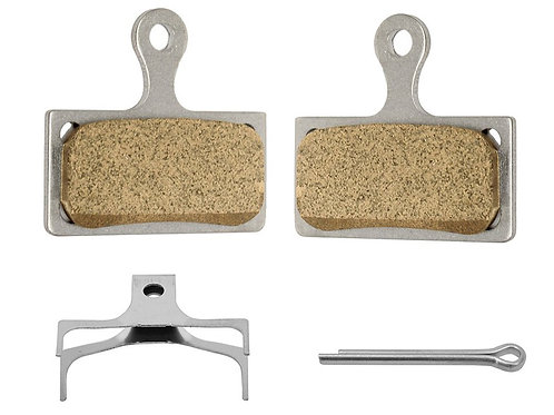 Shimano XT, XTR, SLX and Alfine G04S Metal Brake Pads