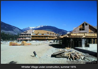 Whistler historic shot of Village