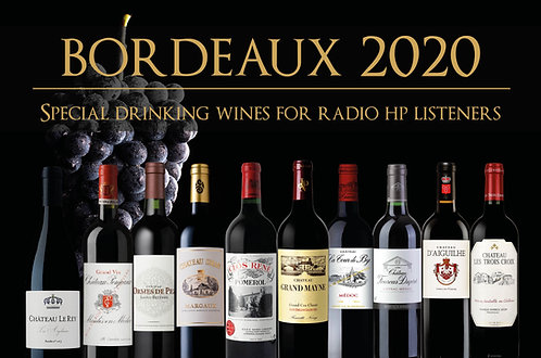 Our Bordeaux 2020 10-case parcel of drinking wines