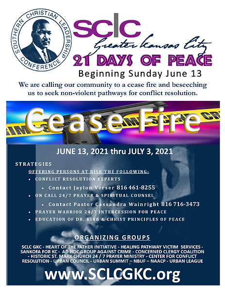 SCLC June 21 Days of Peace    Flyer.png