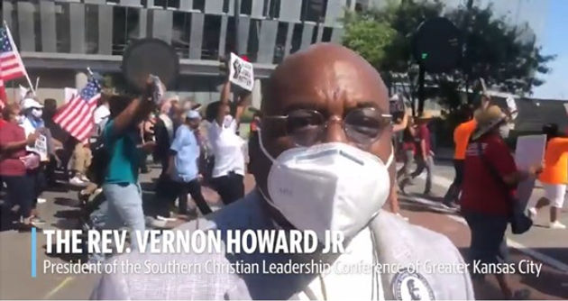 Dr Howard at March on KC (kcstar).jpg