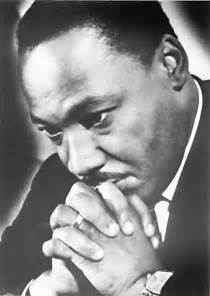 Dr King In Prayer