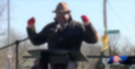 Dr Howard Speaking at MLK Street Renamin