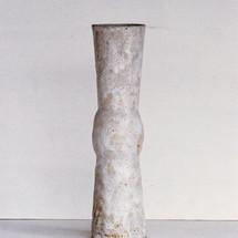 White Vertical Ritual Vessel
