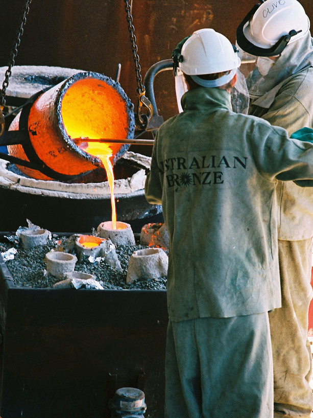 Inversions (bronze process)