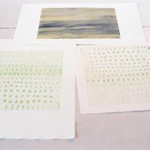 Watercolour Monoprints