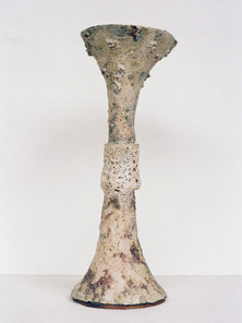 Perforated Barium Ritual Vessel