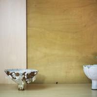 Studio Compostion (Falling Shino / Cycladic / Primavera)