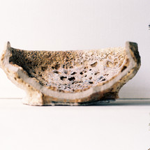 Cross-section of a bowl