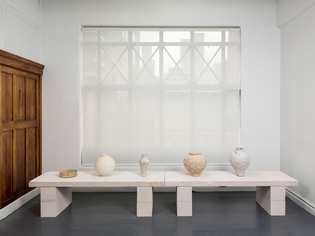 (Three Artists, Forms, Colours); Installation view