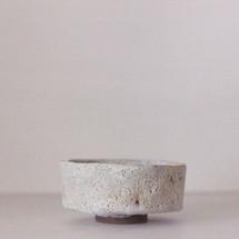 Triple-fired White Salt Matcha Bowl