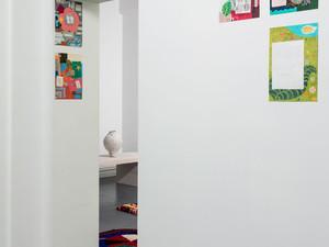 Vita Cochran, Violetta Del Conte–Race, Alana Wilson (Three Artists, Forms, Colours); Installation view