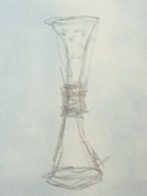Perforated Ritual Vessel (sketch)