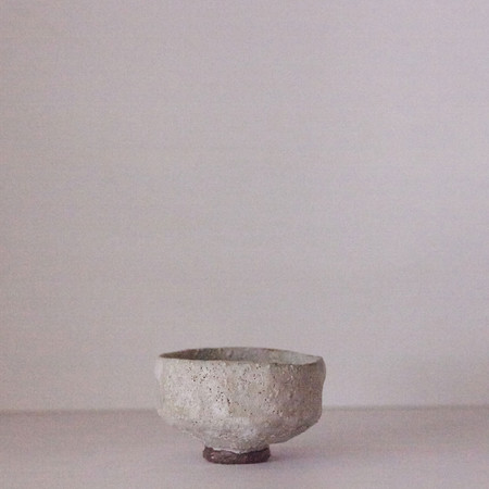 Beaten Umber & Barium Teabowl