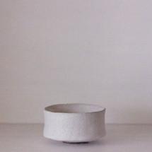 Shallow White Matcha Bowl