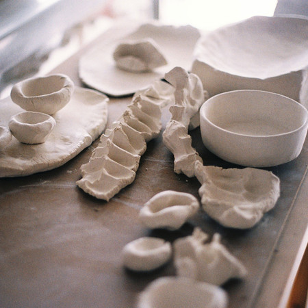 Porcelain Touch Studies, forms