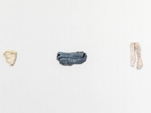TS017 (Washed Prelim), Inversion (Shallow Touch Sketch), TS034 (Twin); Installation view