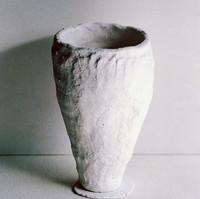 Glazed form, pre-firing