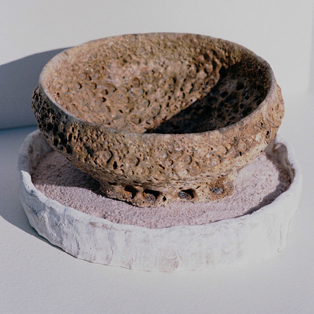 Fired Bowl in Sand Saggar