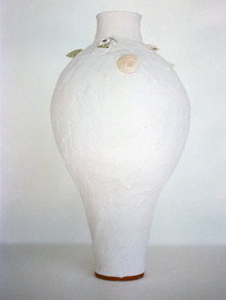 Beaten CuO Halo Vessel (glazed)