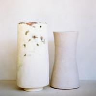 Glazed forms, pre-firing