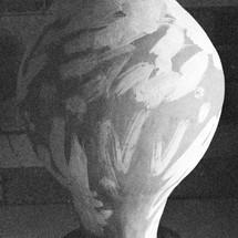Grace III (Sandblasted Salt), glazing