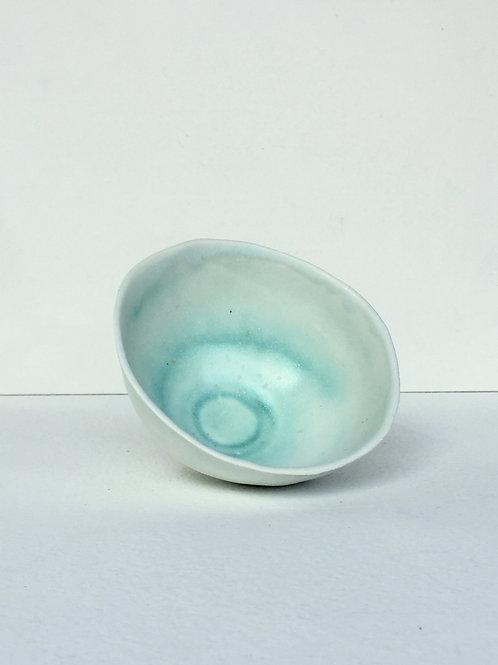 II CuC03 Spiral Teabowl