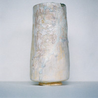 Woodfired Barium Vessel