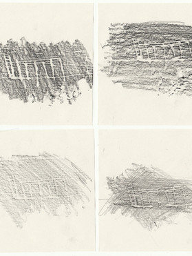 Drawings (Frottage)
