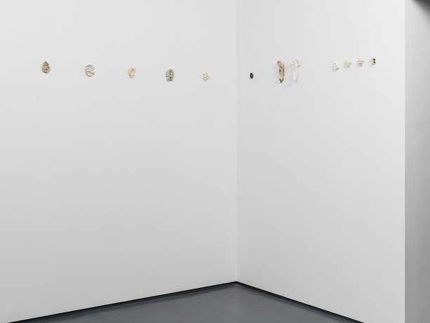 Vita Cochran, Alana Wilson (Three Artists, Forms, Colours); Installation view