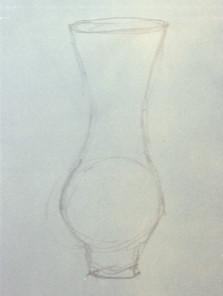 Sandblasted Bell Amphora (sketch)
