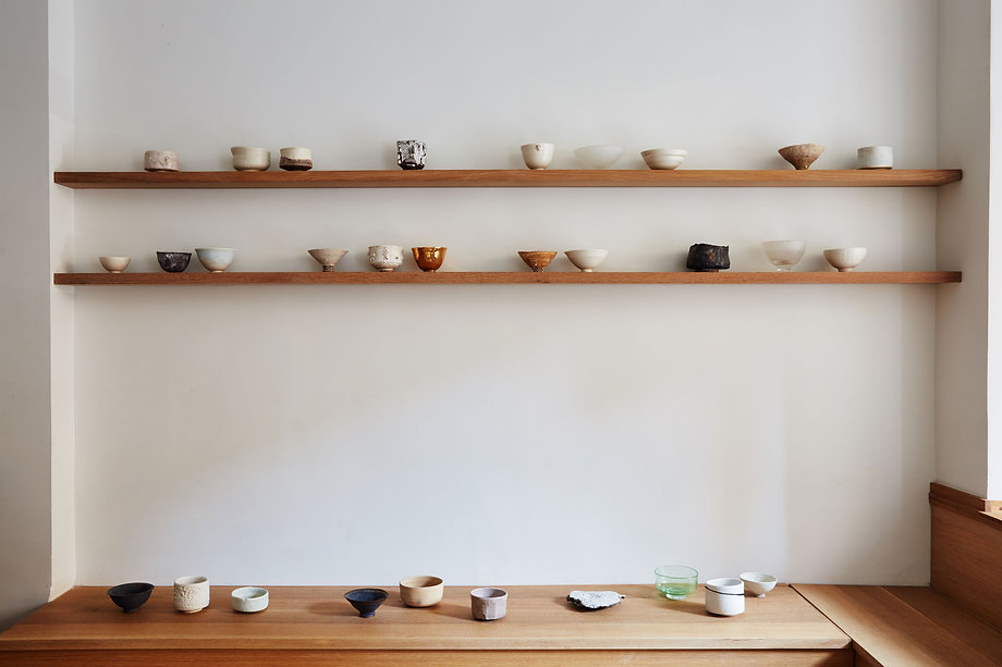alana wilson, ceramics, tea bowl, new york, floating mountain, romy northover, tea, bowl, nyc