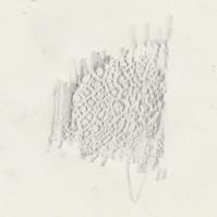 Glaze Shard Frottage III (Graphite)