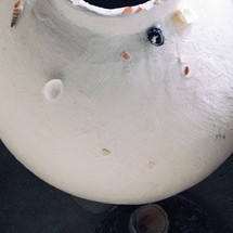 Grace III (Sandblasted Salt), pre-firing