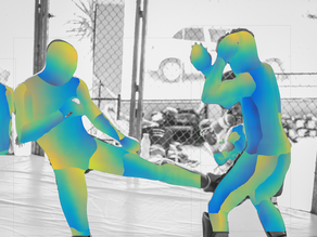 Deep Learning Action Recognition: Automatic Mixed Martial Arts Scoring