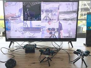 Nvidia Jetson Xavier multi camera Artificial Intelligence demo showcase by RidgeRun