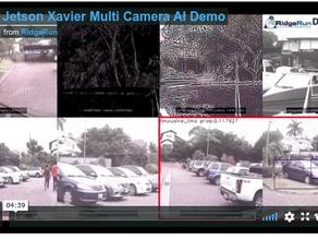 NVIDIA Jetson Xavier Multi-Camera AI Demo from RidgeRun