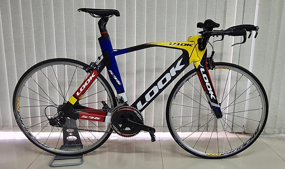Bicicleta TT LOOK/Grupo Dura-Ace