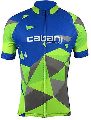 Camisa Cabani/Azul e Neon