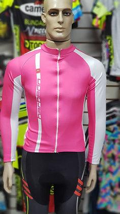 Camisa Barbedo rosa/branco
